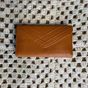 Handbags - Vintage 1960/70s fullgrain cowhide leather wallet